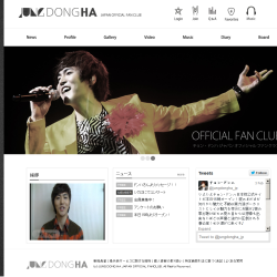 JUNG DONGHA Japan Official Fanclub