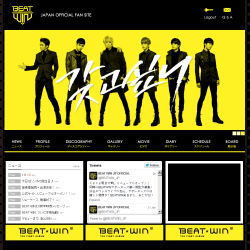 BEATWIN JAPAN OFFICIAL FANSITE