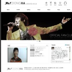 JUNG DONGHA Japan Official Fanclub